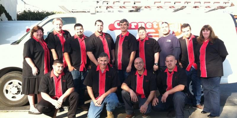 cornett team photo